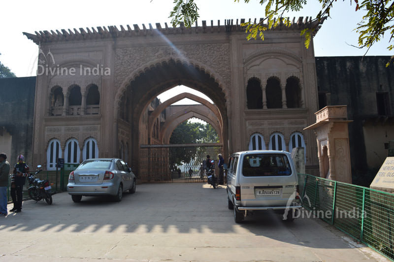 Entry Gate of Deeg Palace