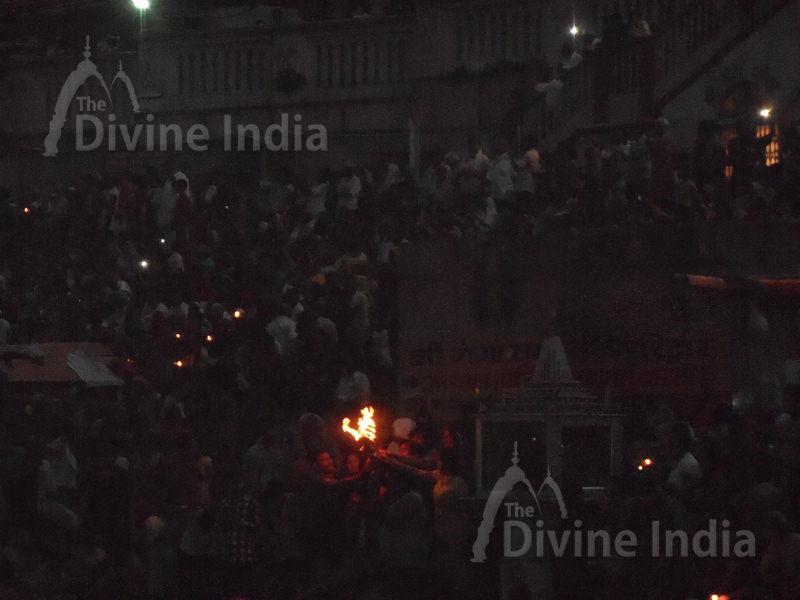 Evening view of har ki pauri - Haridwar