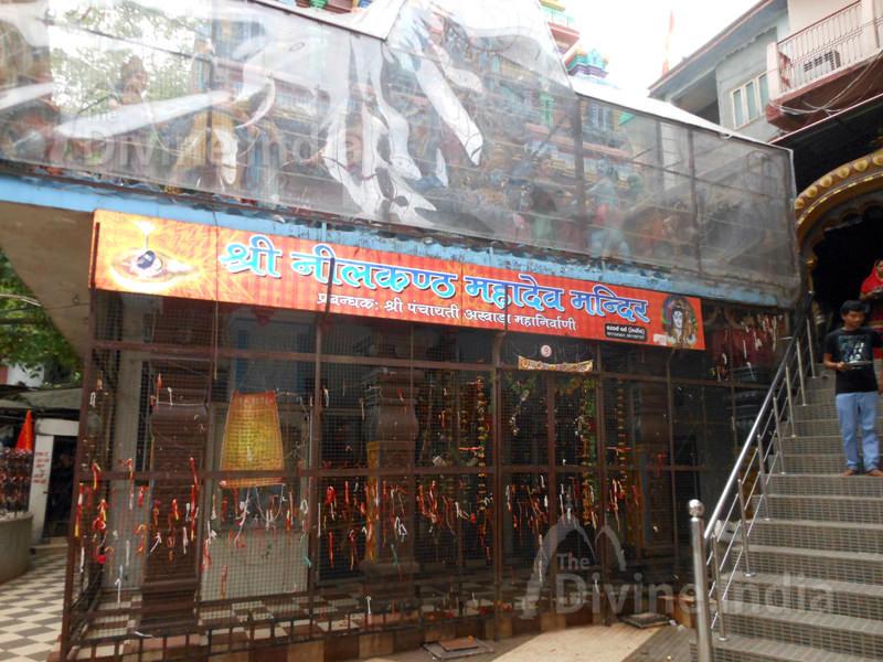 Exit Gate of Neelkanth Mahadev Temple