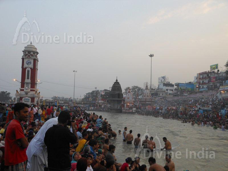 The Ganga River Har ki Pauri- Haridwar