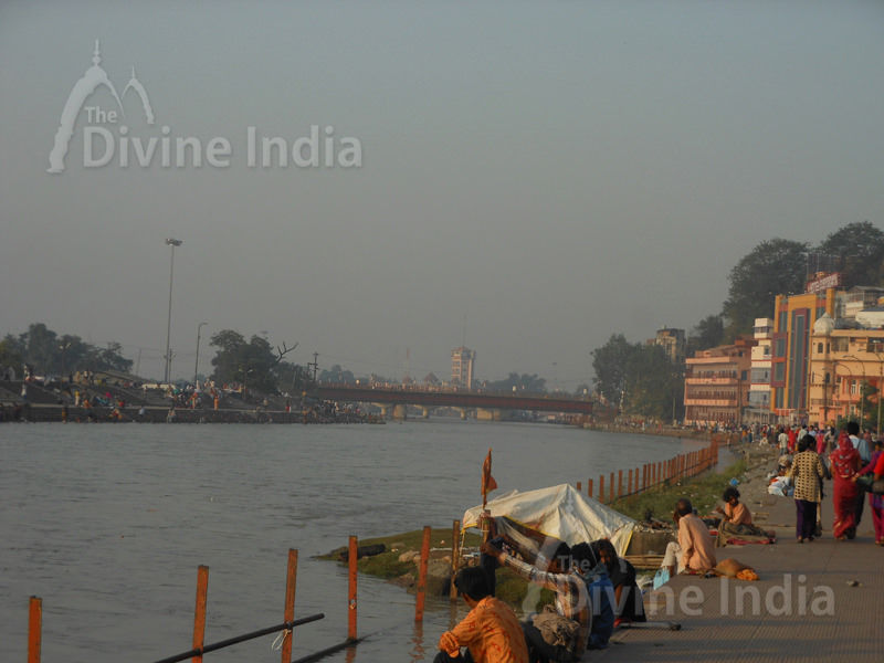 The Ganga River - Haridwar