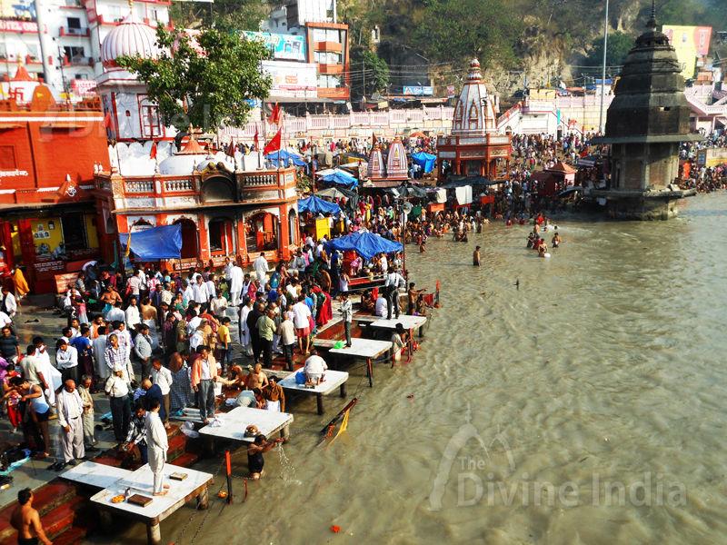 The Ganga Temple at Haridwar