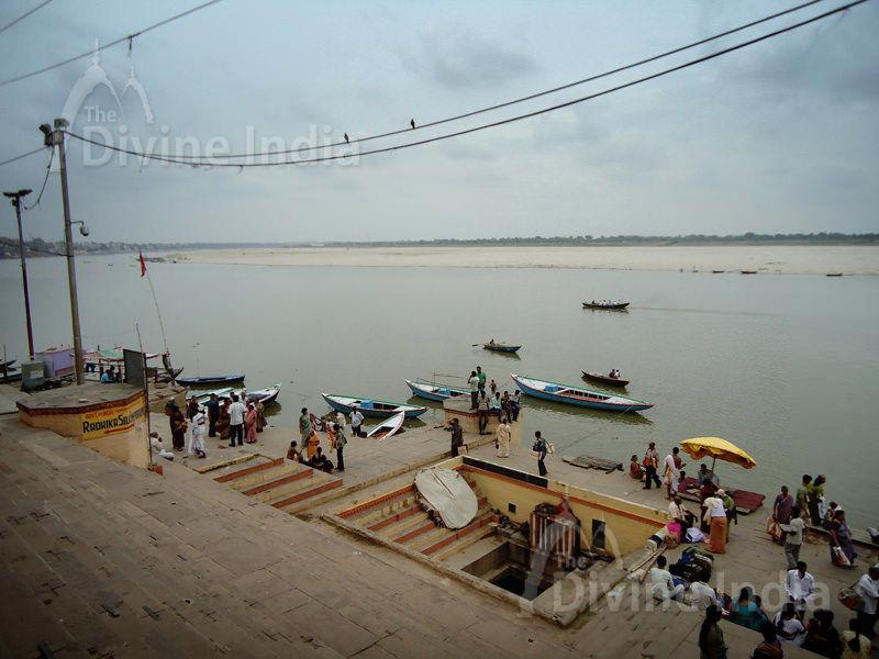 Bathing Ganga Ghat Varanasi