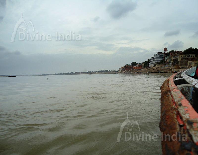 View of Ganga in Varanasi