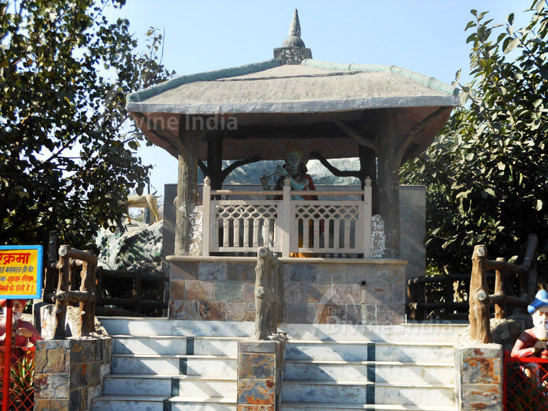 Giriaj Temple at Moksha Dham Temple