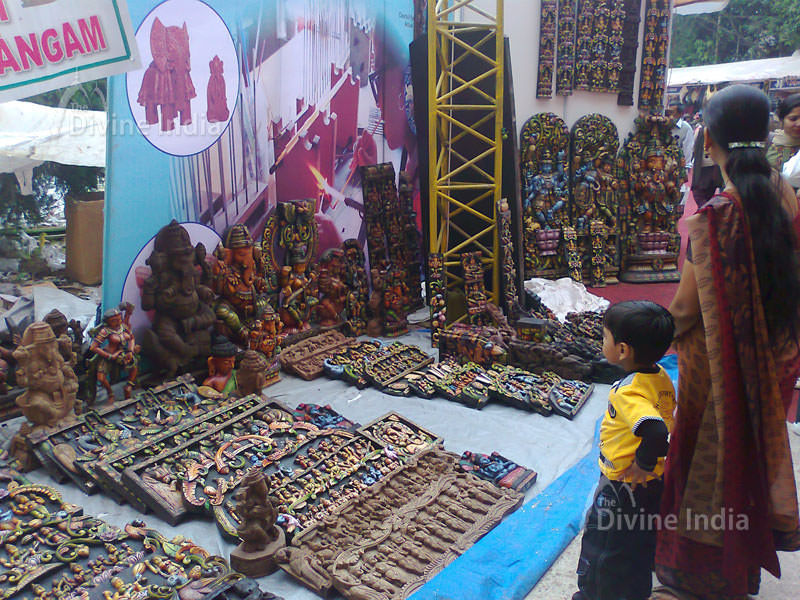 wood made God's Ideals for sale at trade fair