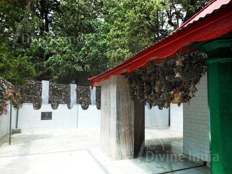 Hang Bells compund of Jhula Devi Temple