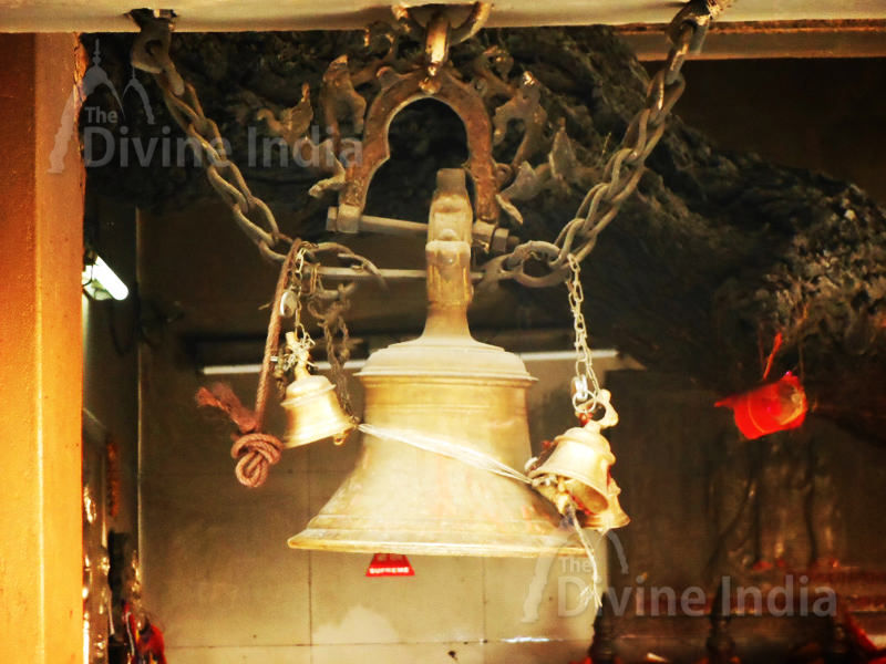 Hanging Bell at Salasar Balaji Temple