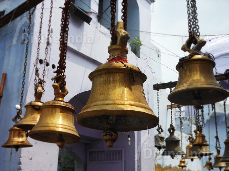 Handing Bells at Bateshwar Temple