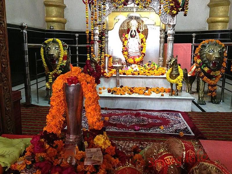 Idol of Bhadrakali Maa