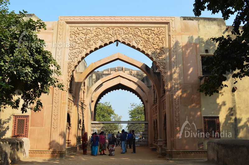 Inside the Entry Gate of Deeg Palace