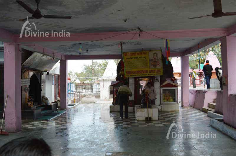 Inside view of Gandeswari Temple