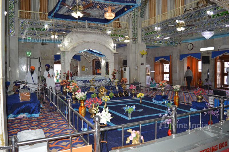 Inside view of Gurudwara Paonta Sahib