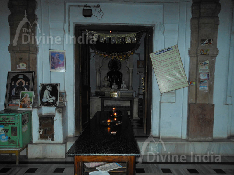 Inside View of Shouripur Digambar Jain Temple