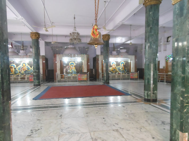 Inside view of Temple Shiv Mandir Gufawala-preet vihar