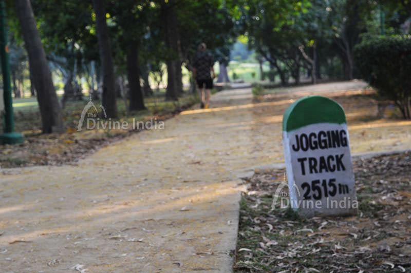 Jogging Track at Nehru Park
