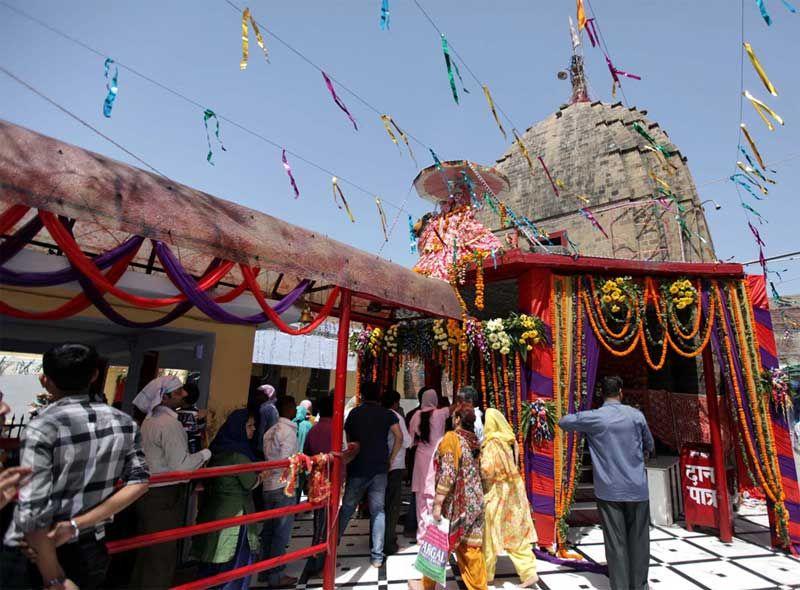 Kali or Bawa wali Mata Temple in Jammu