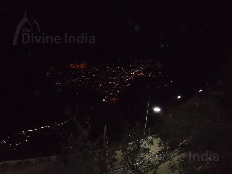 Night Panoramic View of Katra City