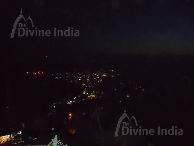 Other Night Panoramic View of Katra City