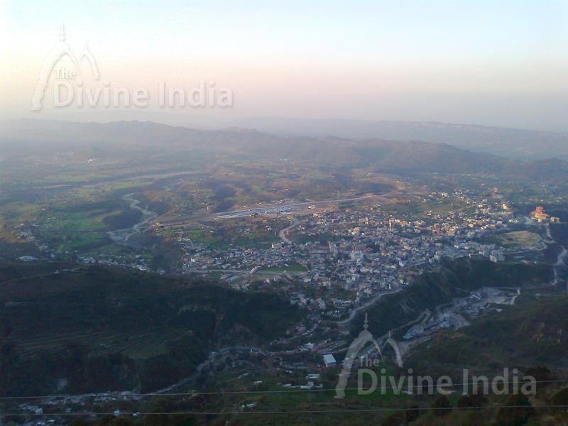 Panoramic View of Katra City