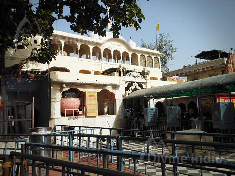 Side View of Khatu Shyam Temple