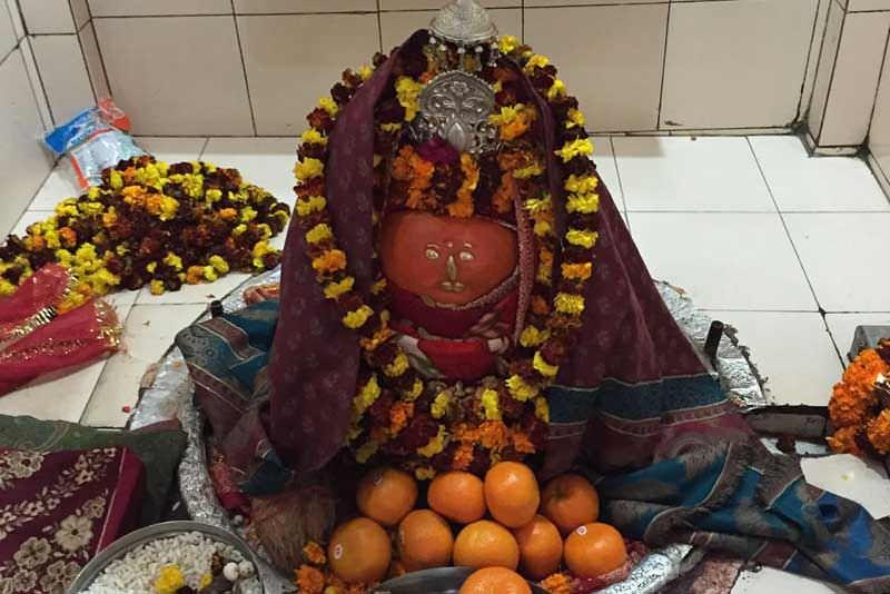 Kal Kandoli Mata as form in pindi