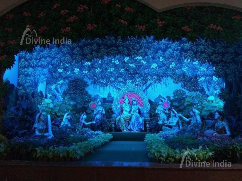 Beautiful Krishna Darbar at Prem Mandir