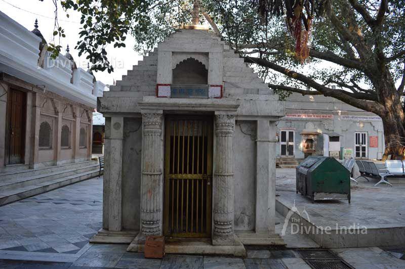Kshetrapal temple at kangra devi temple