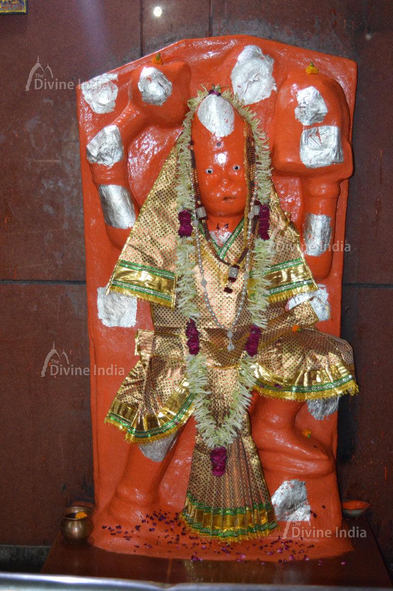 Lord Hanuman Statue at Shri Shani Dev Temple Noida