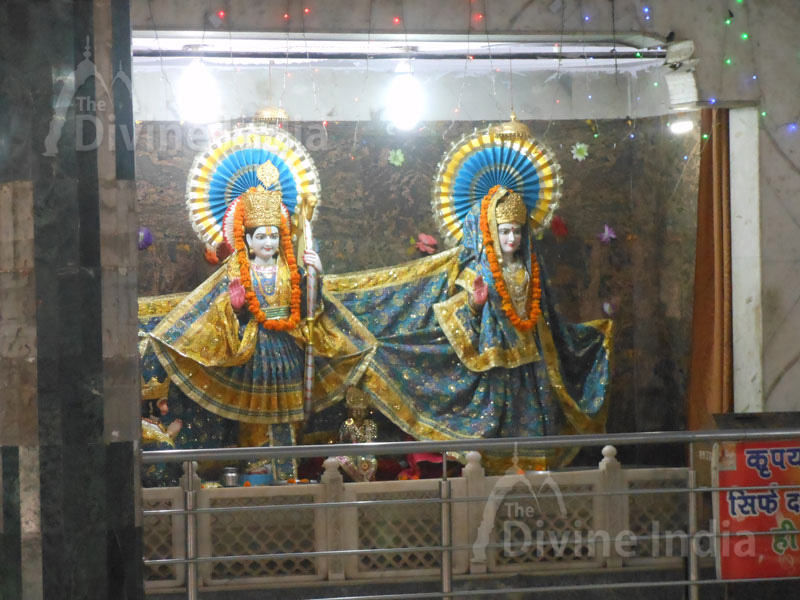 Lord Sir Ram and Maa Sita Idol at Shiv Mandir Gufawala-preet vihar
