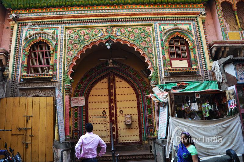Main Entrance Gate of Dwarkadhish Temple Mathura