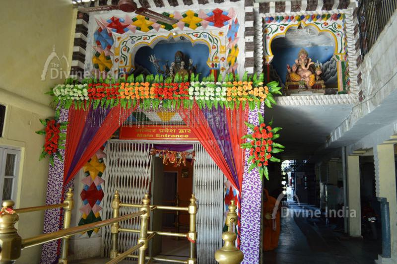 Old Idol of Maa Durga at chintpurni temple