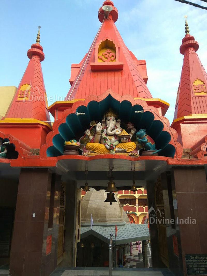 Main Entry Gate of the Shiva Temple Ranikhet
