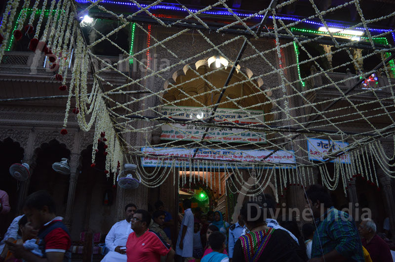 Shri Bankey Bihari Temple Main Entry Gate