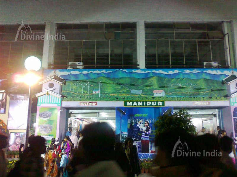 Manipur Pavilion at Pragati main trade fair