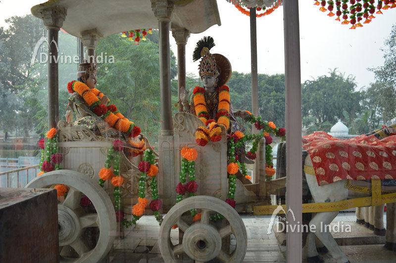 Marble Chariot at Jyotisar