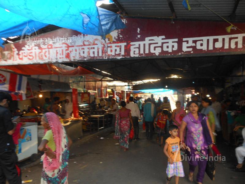 Market Place at Chandi devi temple