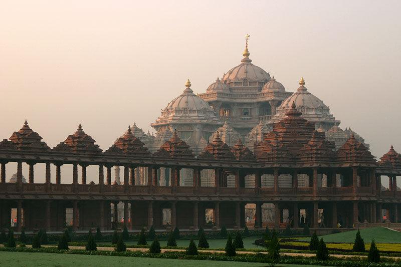 Architecture of the Akshardham Temple