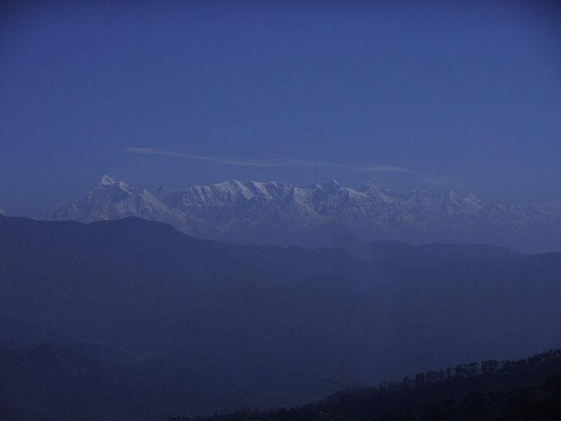 Mount Everest View at Ranikhet