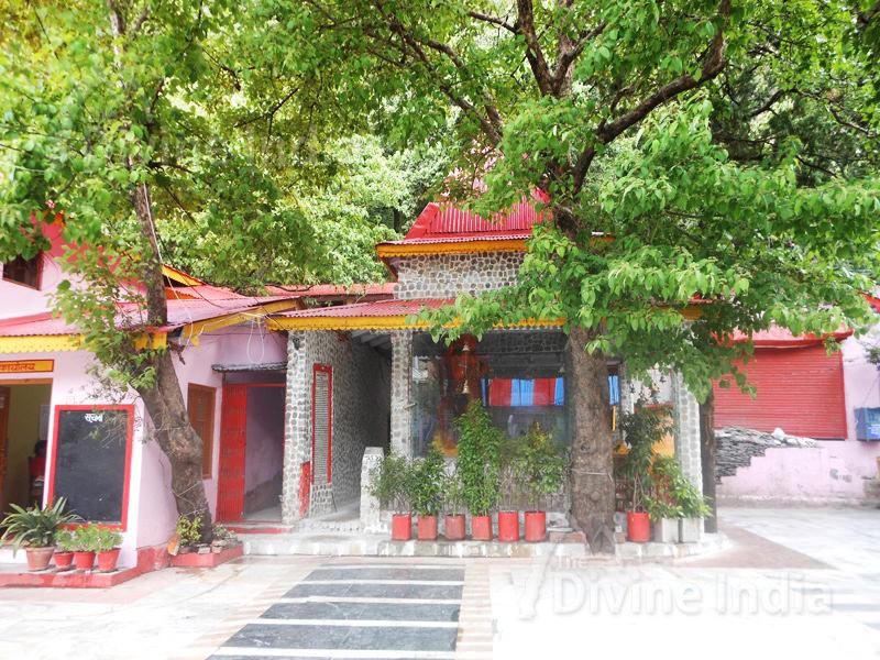 Side View of Lord Hanumana Temple at Naina Devi Temple- Nainital