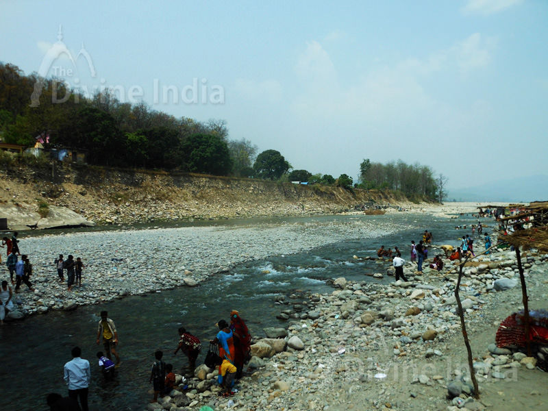 Other View of Kosi River at Girija Devi Temple
