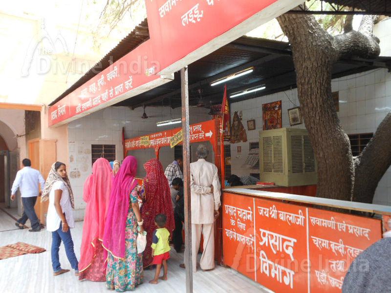 Other View Prasad Shop at Salasar Balaji Temple