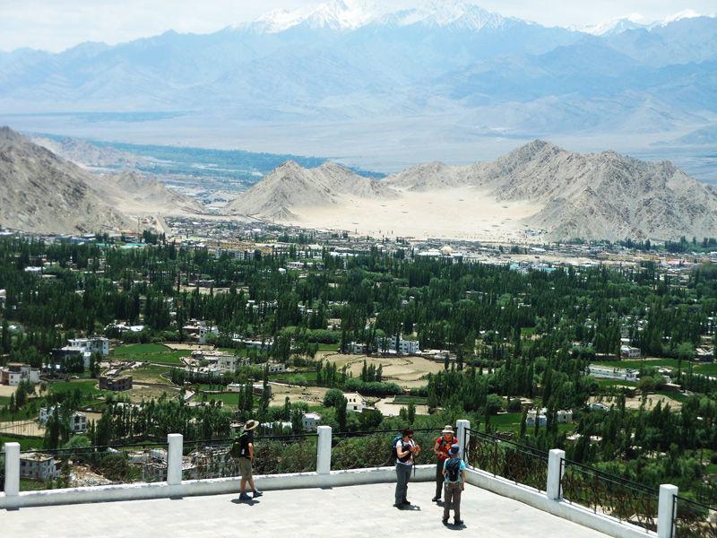 Panorama View - Stanti Stupa