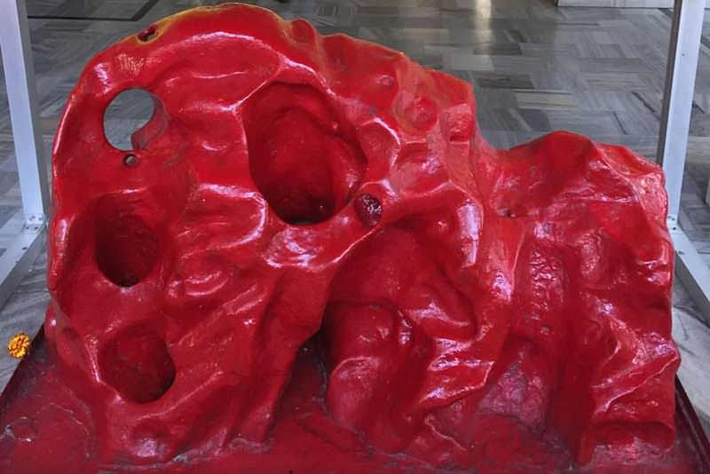 pindi is a replica of the Trikuta Mountain