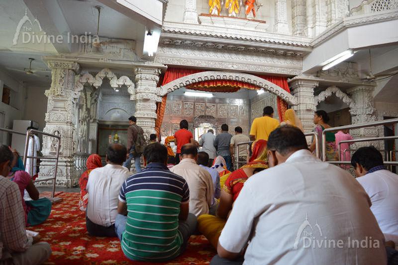 Prayer Hall at Hanuman Balaji Temple