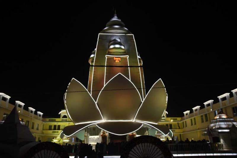 Priyakant Ju Temple Night View