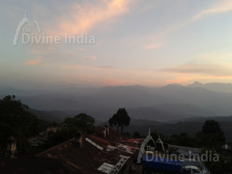 Ranikhet Valley in Morning View