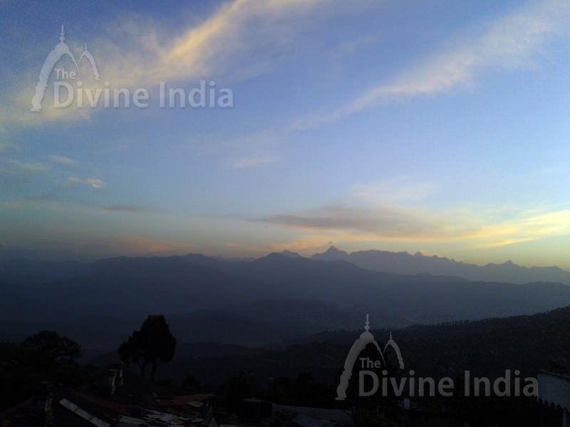 Ranikhet Valley in Morning View