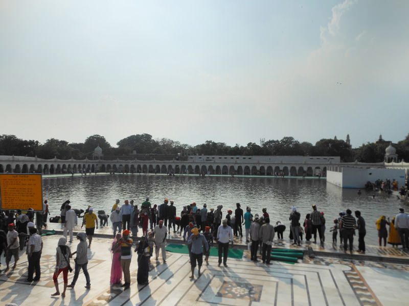 The Sarovar at Gurudwara Bangla Sahib
