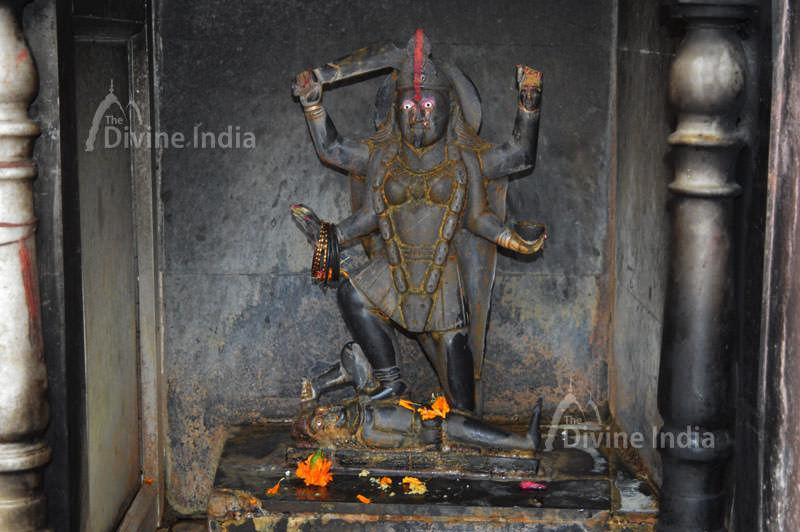 Sculpture of Maa Kali at Dudhewshar Nath Temple